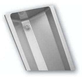 aul 05 edelstahl waschrinne mit abgerundeten inneren ecken azp brno. Black Bedroom Furniture Sets. Home Design Ideas