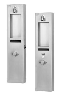 AUS 3, AUS 3P automatische Duscharmatur für Aufputzmontage mit Thermostatventil und Sensor / Piezotaste